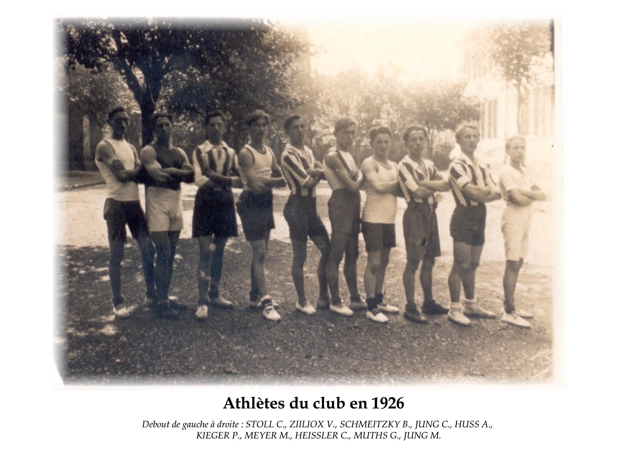 Annees 1926