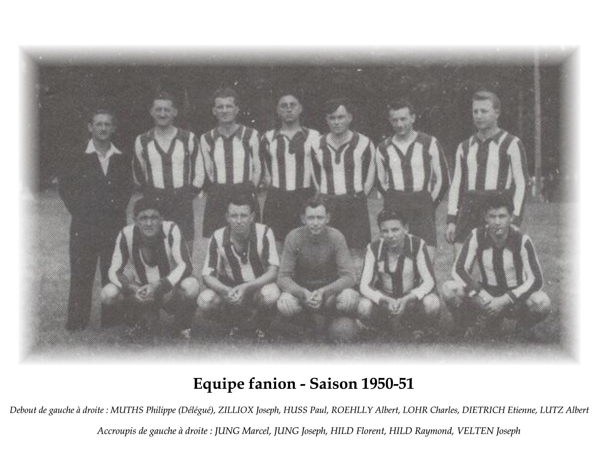 Annees 1950-51