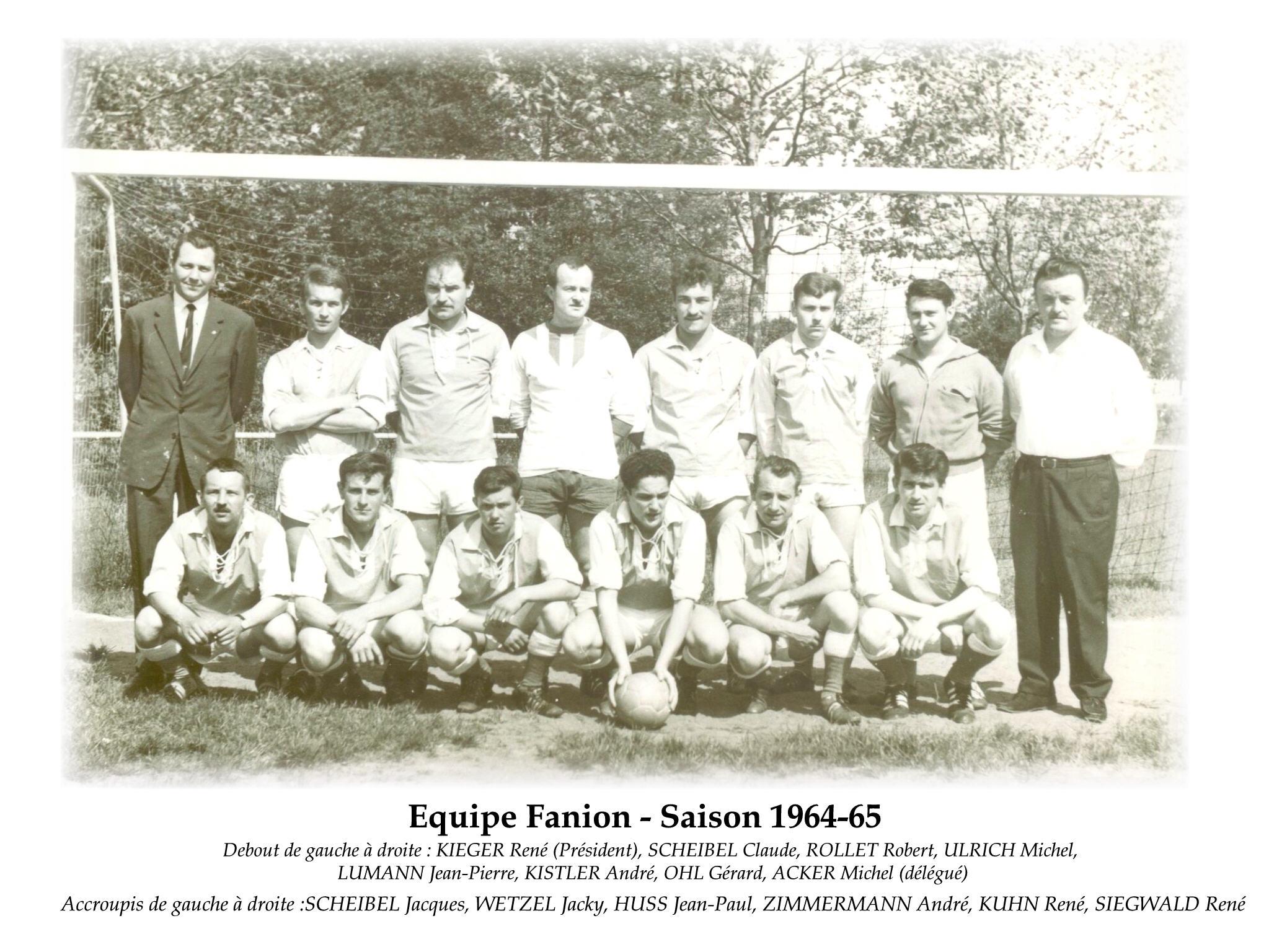 Annees 1964-65