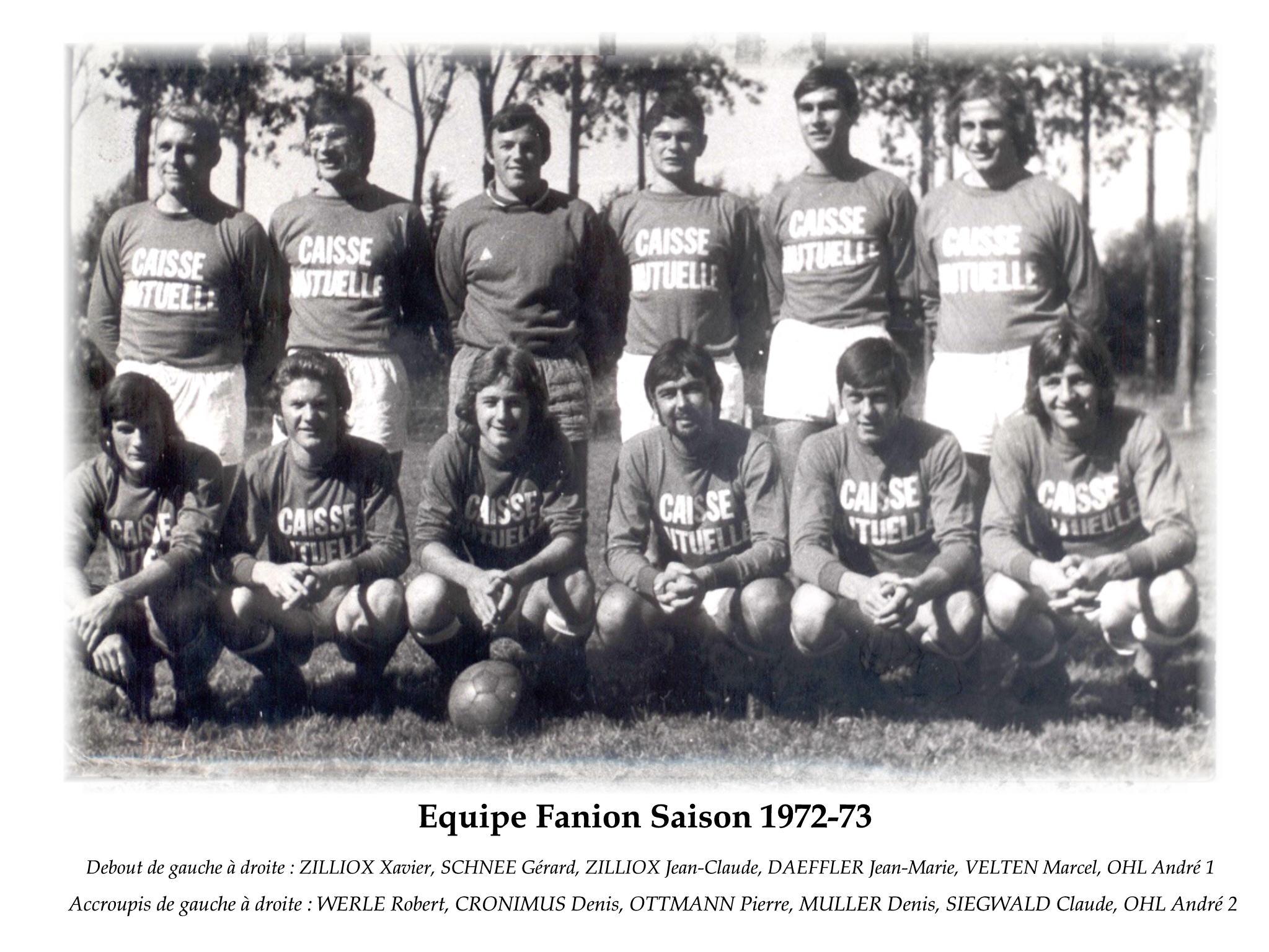 Annees 1972-73