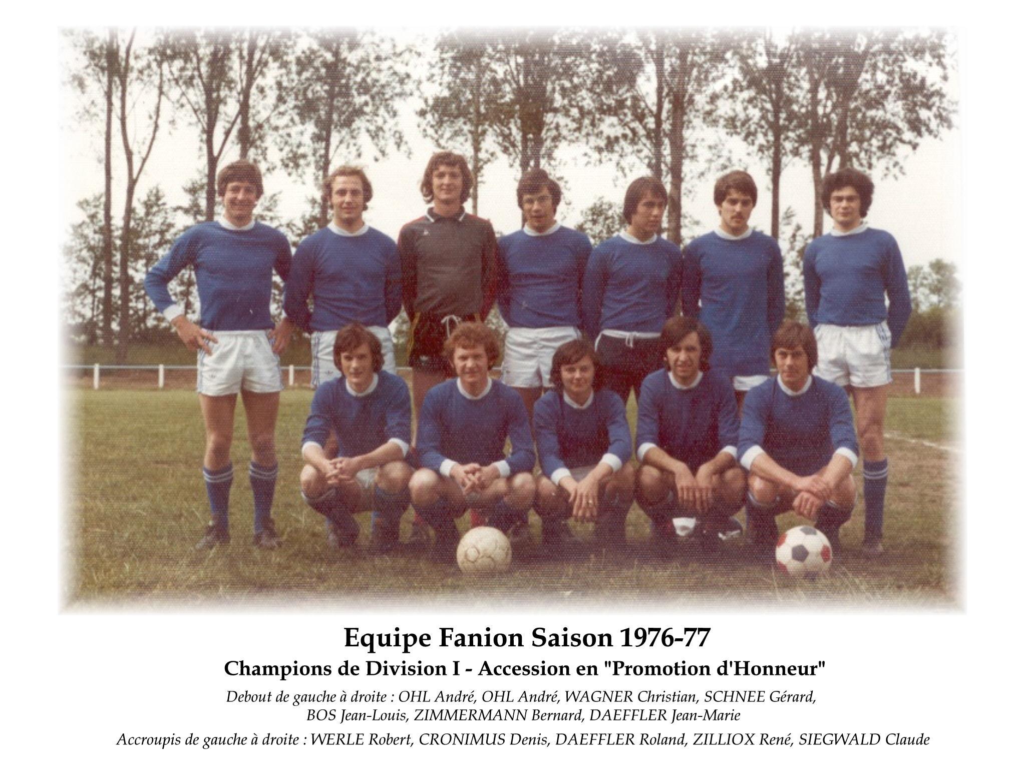 Annees 1976-77