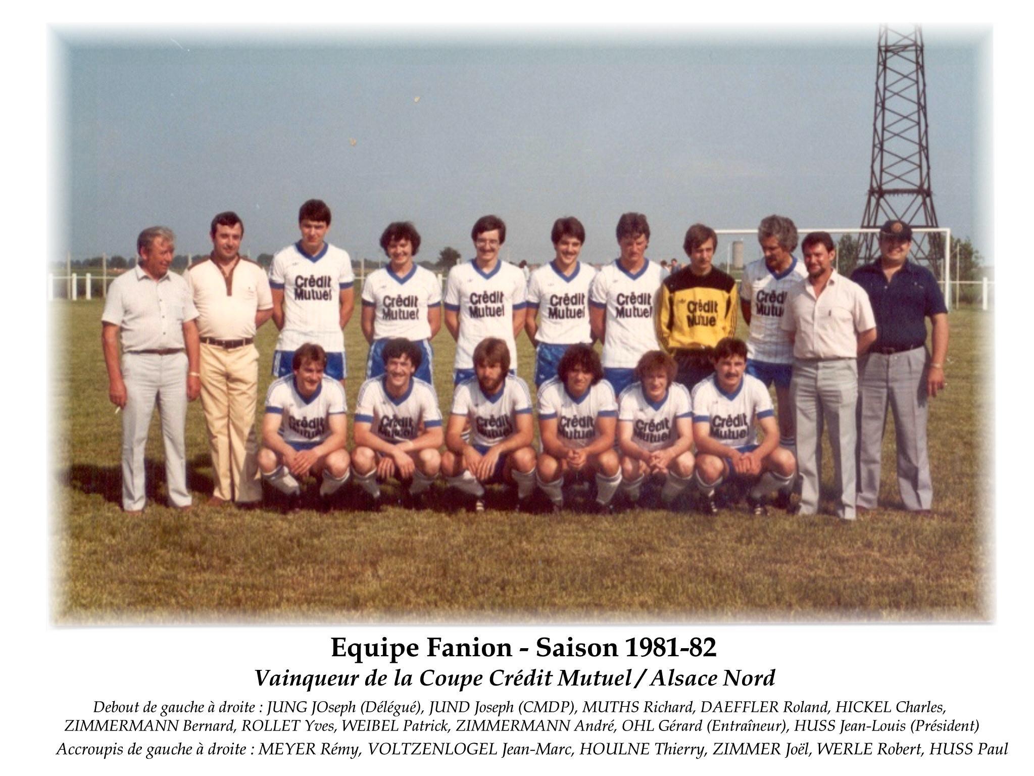 Annees 1981-82