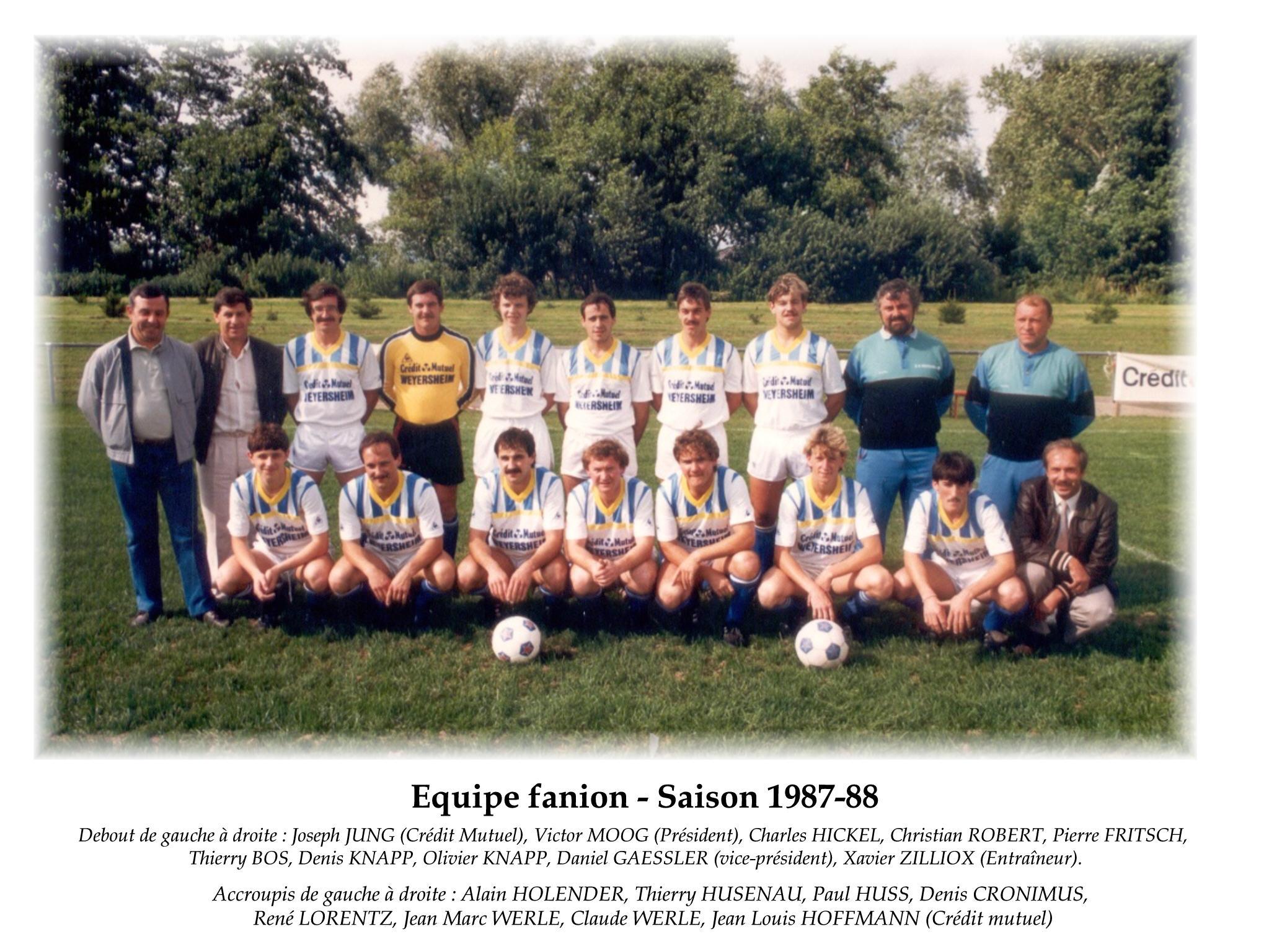 Annees 1987-88