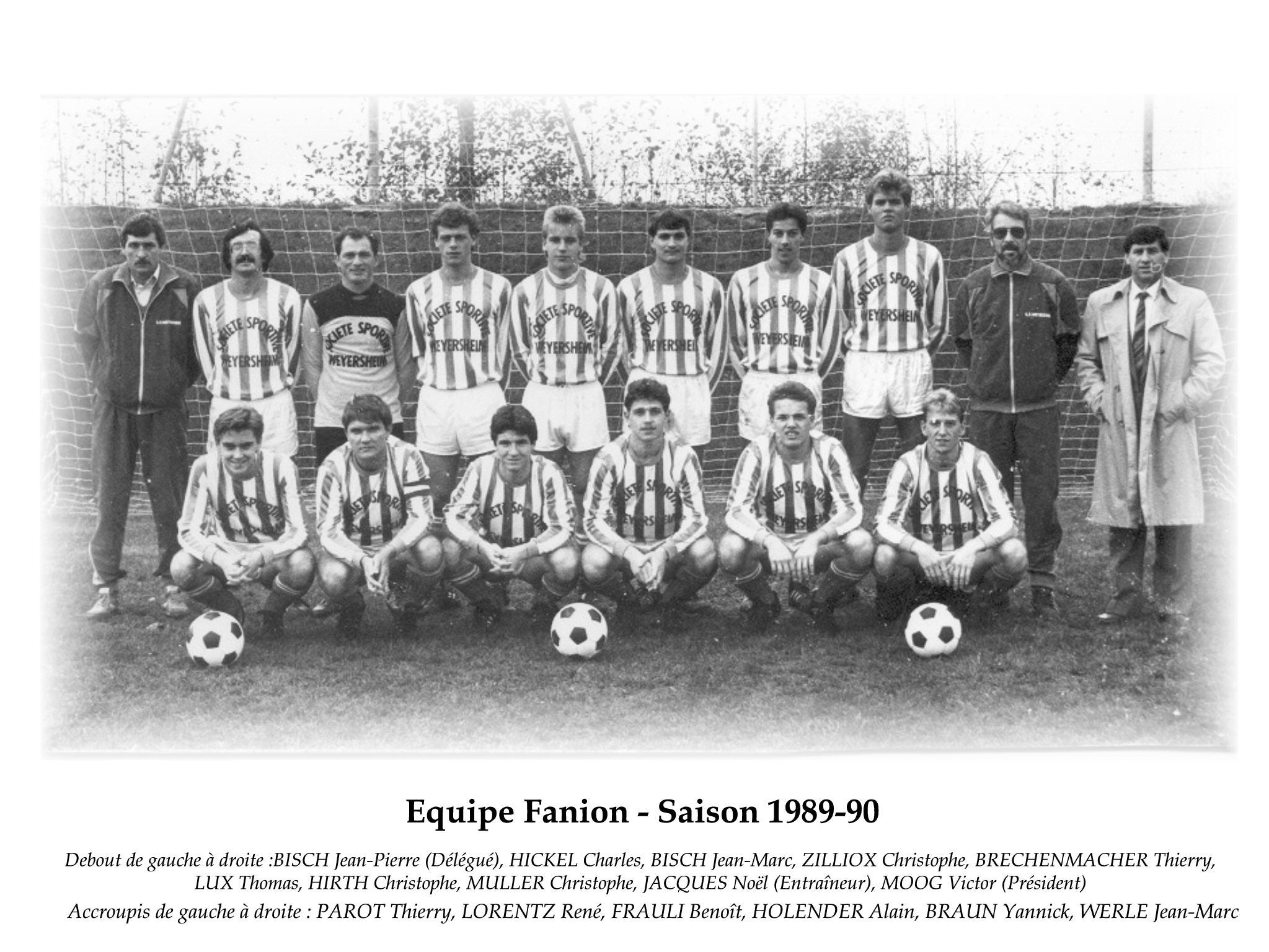 Annees 1989-90