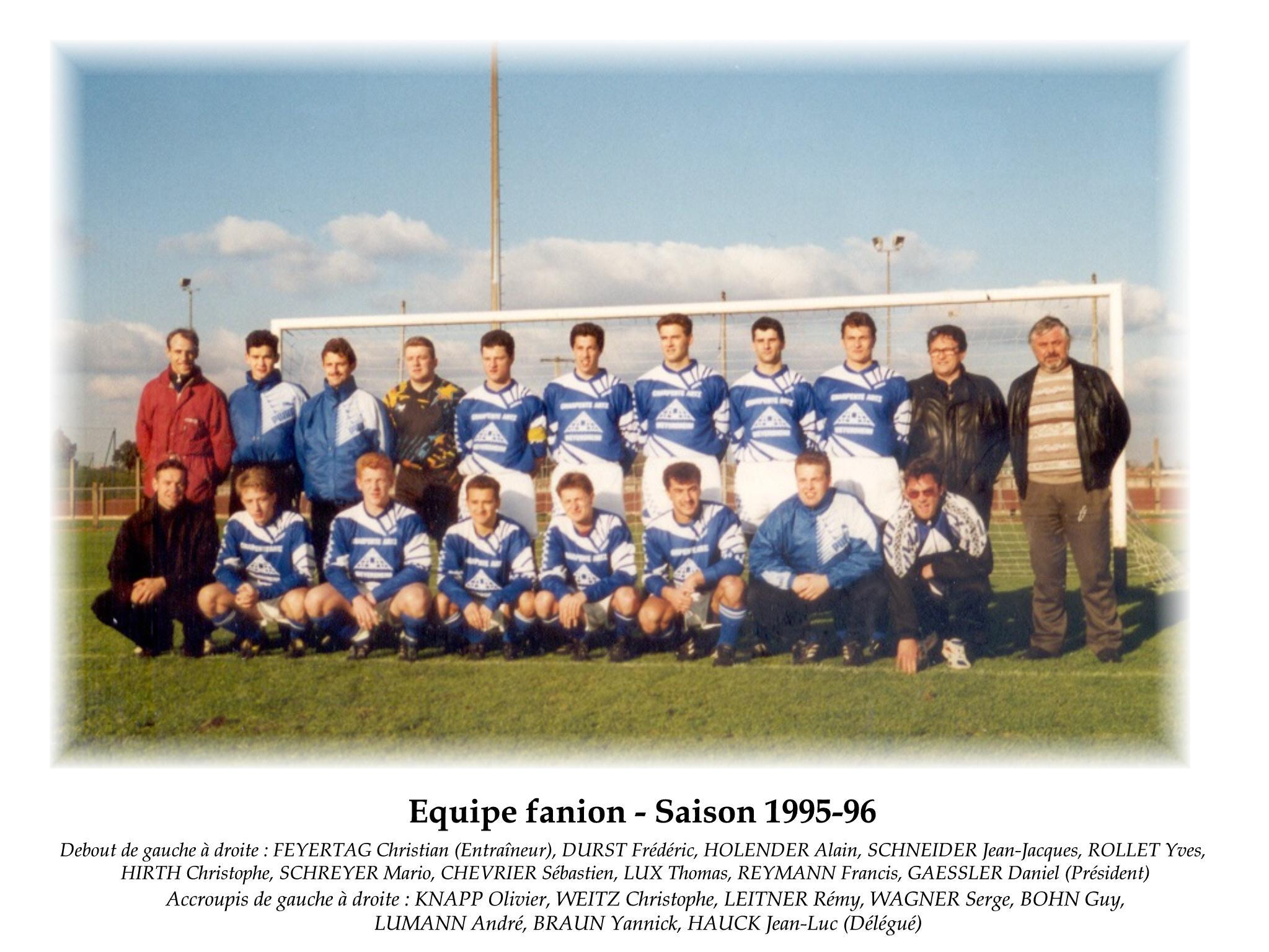 Annees 1995-96