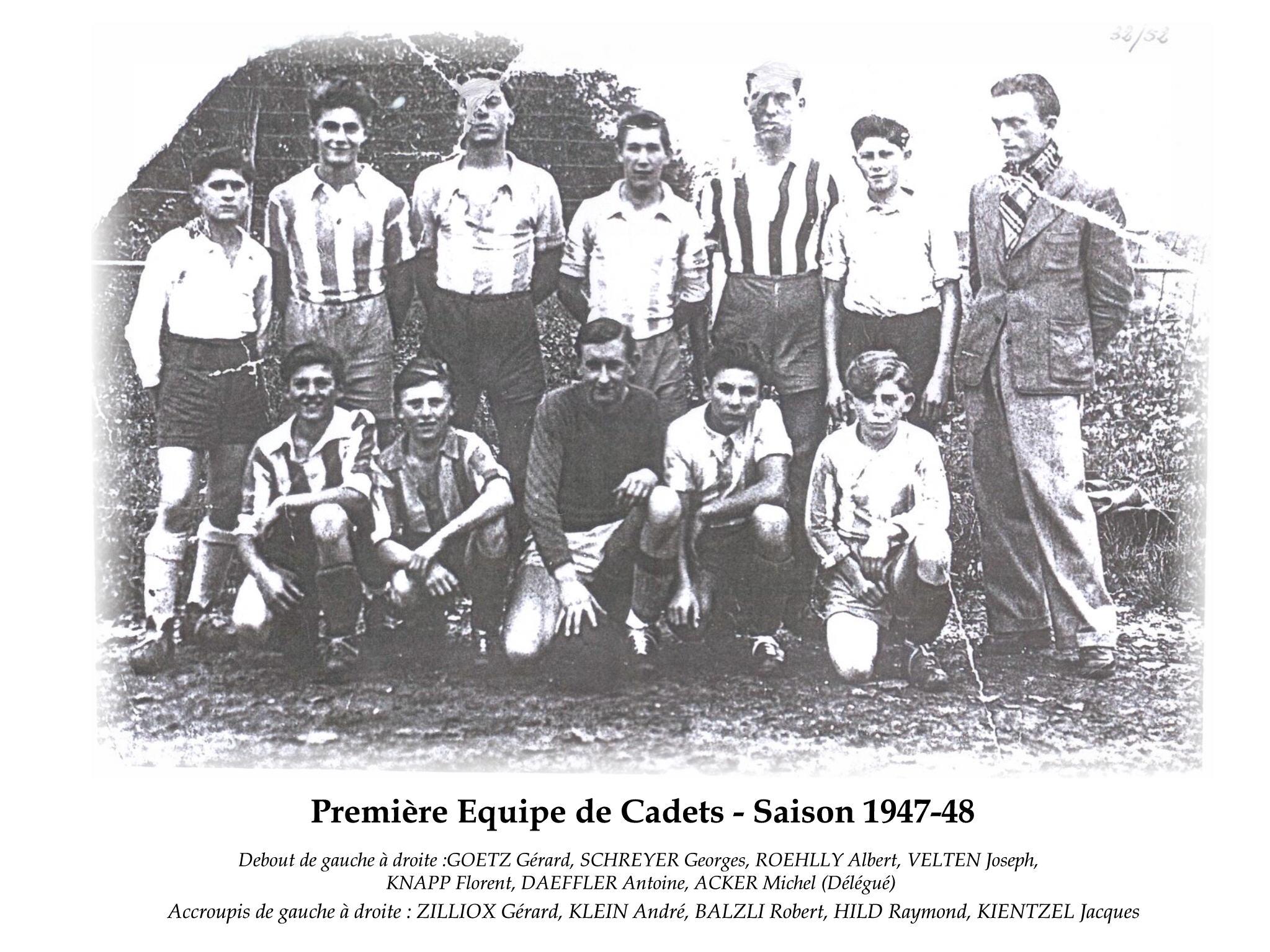 Cadets 1947-48