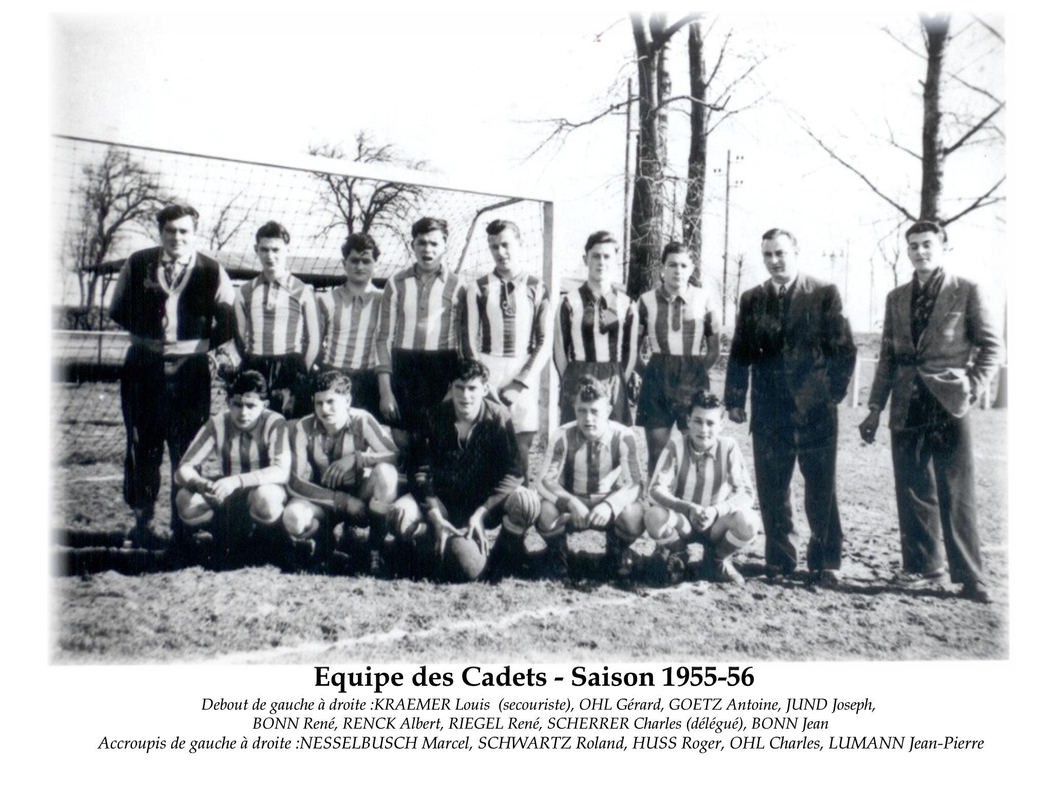 Cadets 1955-56