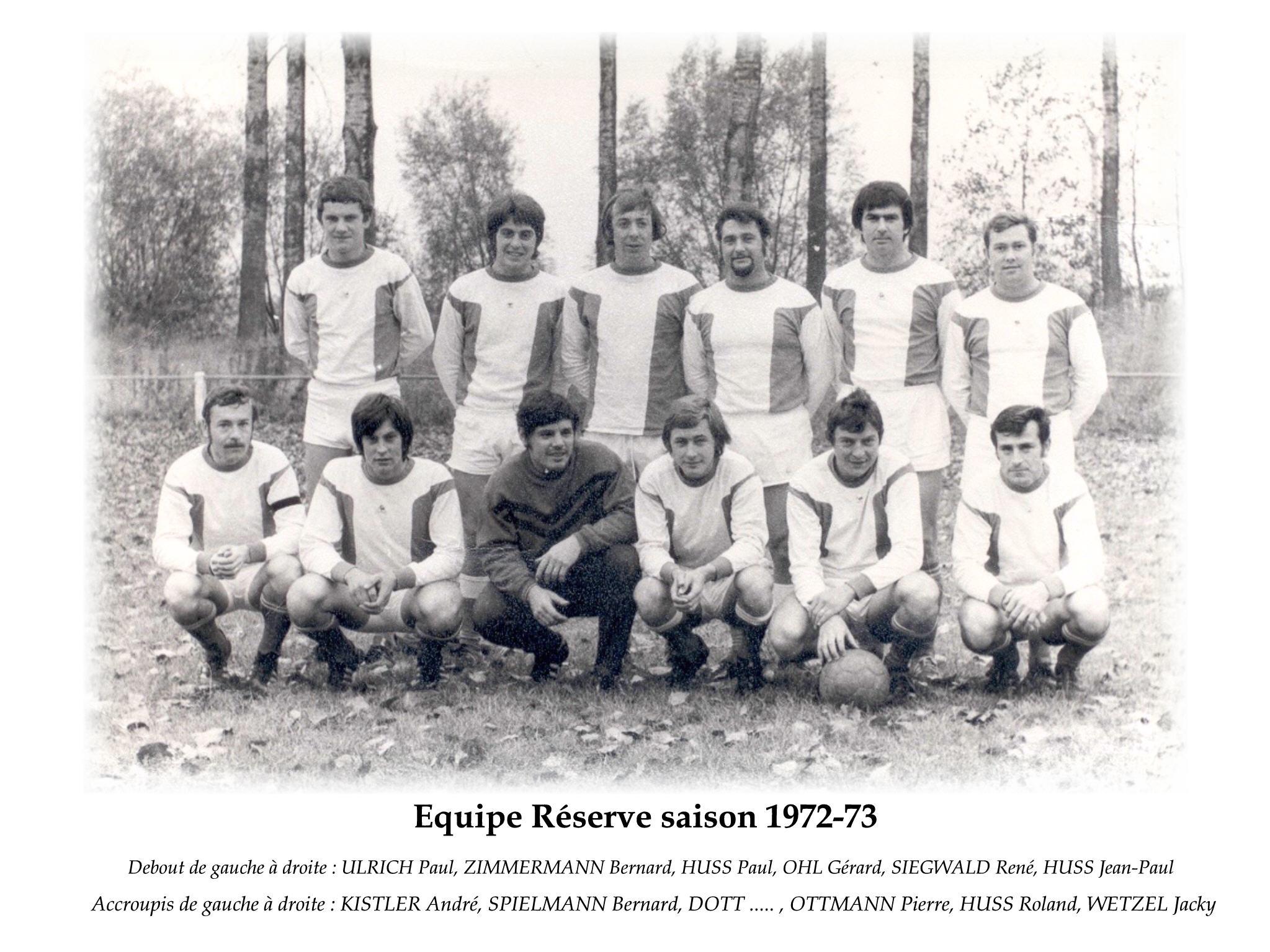 Reserve 1972-73