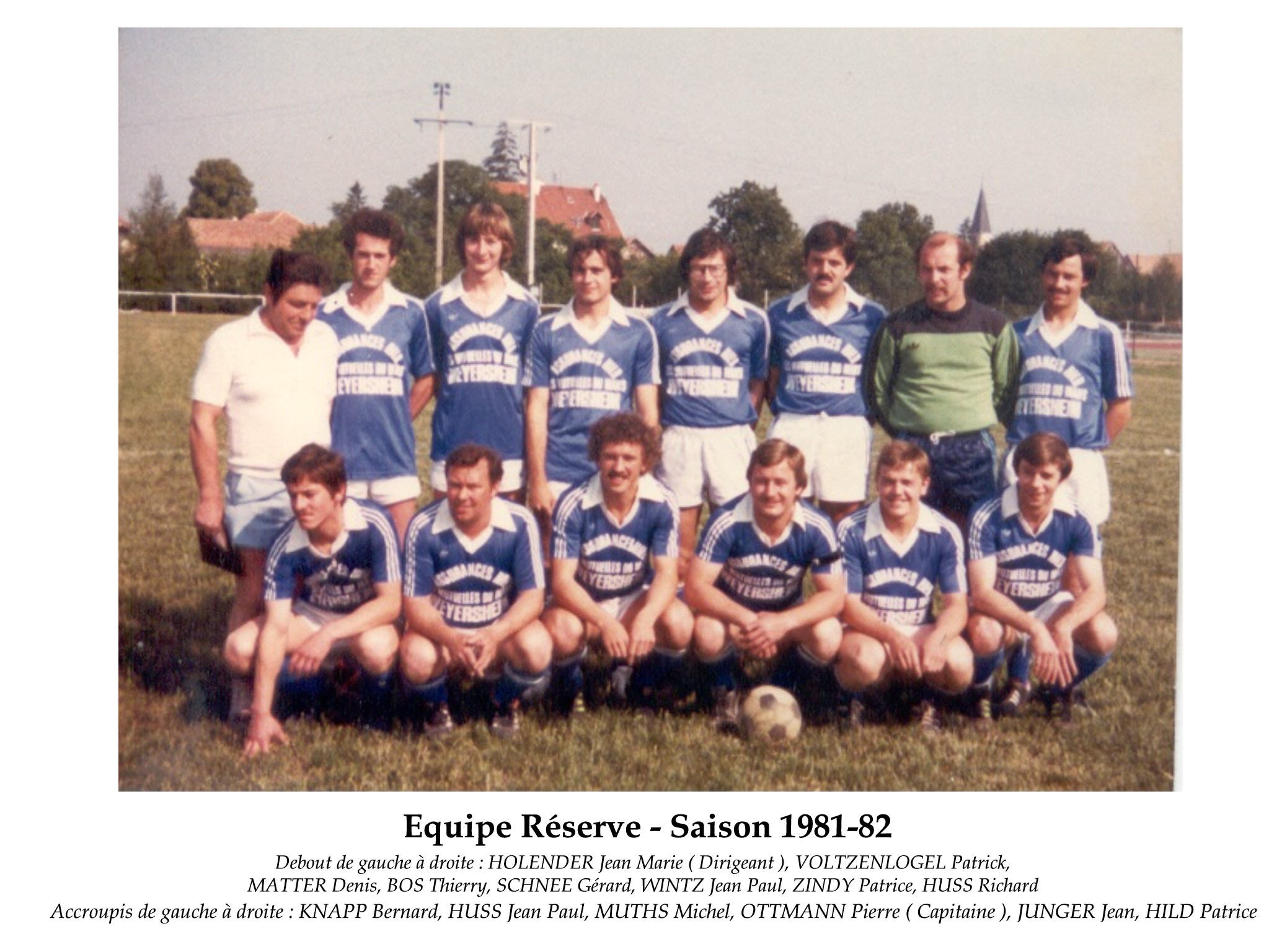 Reserve 1981-82