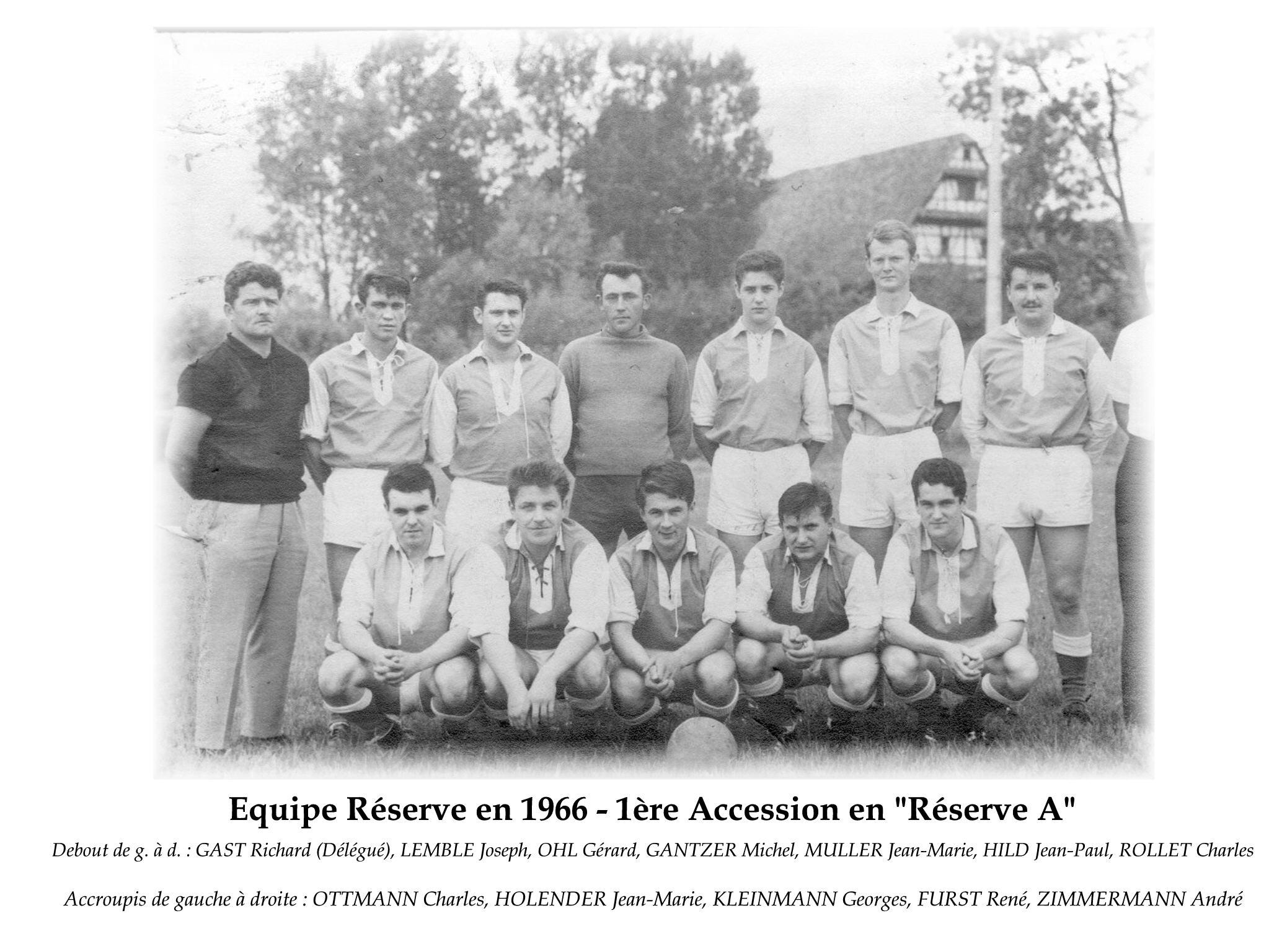 Reserve A 1966