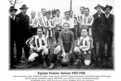 Annees 1925-26