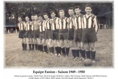 Annees 1949-50