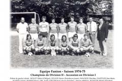 Annees 1974-75