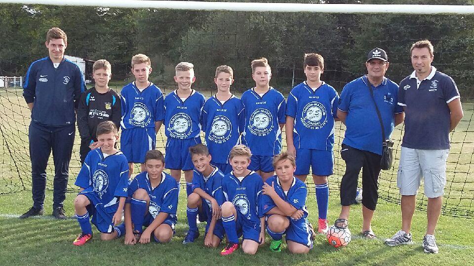 Equipe SSW U13 saison 2016-2017