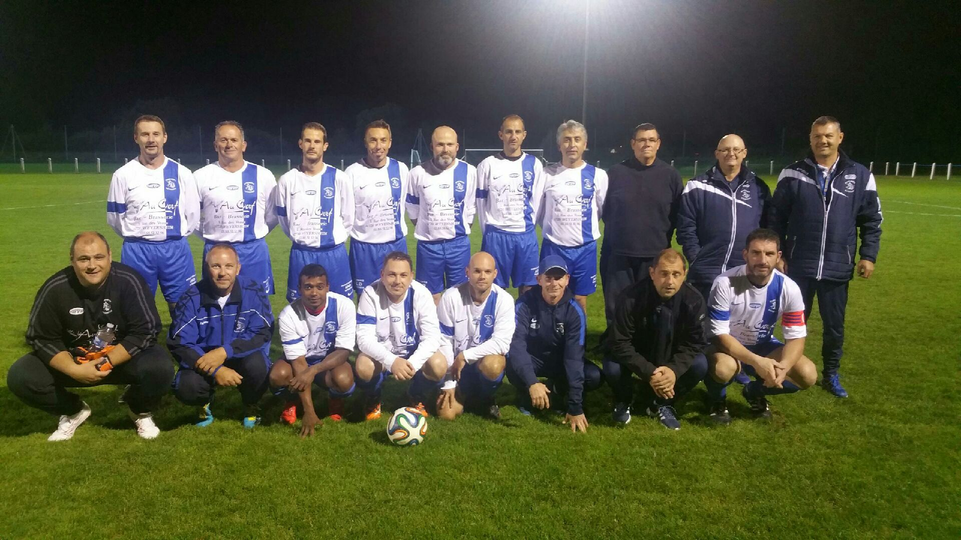 Equipe Vétérans saison 2016-2017