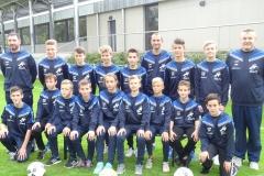 Equipe SSW U15 saison 2016-2017