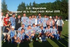 SSW Vainqueur de la Coupe CRédit Mutuel